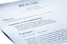 Getting A Professional Resume
